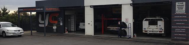 Your Car Workshop Front